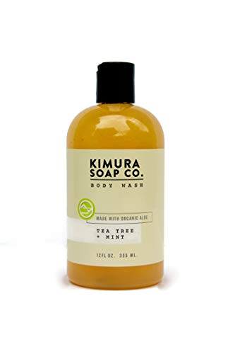 Kimura Soap Tea Tree Mint Body Wash Organic All Natural...