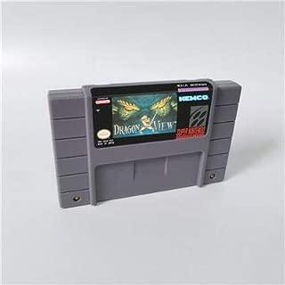 Game card - Game Cartridge 16 Bit SNES , Game Dragon View - RPG Game Cartridge Battery Save US Version