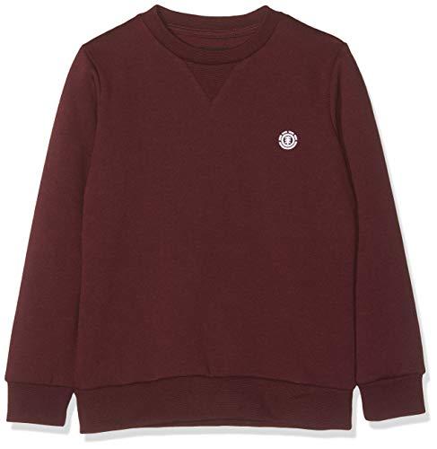 Element Jungen Cornell Classic CR Sweatshirt, Napa red, 14