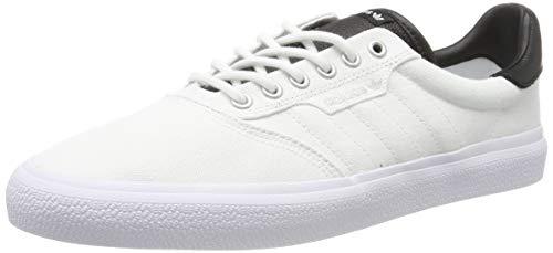 adidas 3Mc, Zapatillas de Skateboarding para Unisex Adulto, Blanco (Ftwr White/Core Black/Silver Met.), 40 2/3 EU