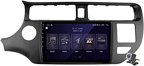 Navigazione GPS Autoradio per K-IA Rio 4 K3 2011-2015, Schermo tattile IPS Android 10.0 Autoradio Stereo Supporta Il Controllo del Volante BT Mirror-Link 4G WiFi