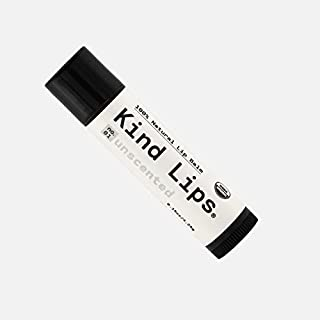 Sponsored Ad - Kind Lips Organic Lip Balm | Unscented No. 01 Single 0.15oz | All-Natural Chapstick