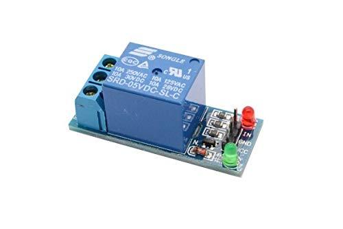 Eckstein QITA 1 Kanal Relais 5V/230V 1 CH Relay Modul for Raspberry Pi Arduino
