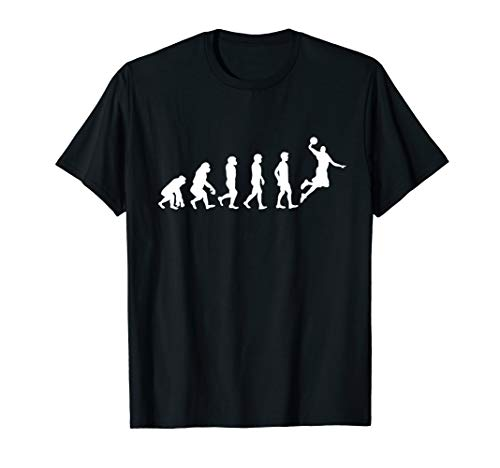 Evolution Basketball | Basket Ball, Korb Sport | Geschenk T-Shirt