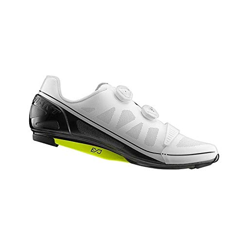 Giant Surge - Zapatillas de ciclismo de carreras, color blanco/negro, talla 44