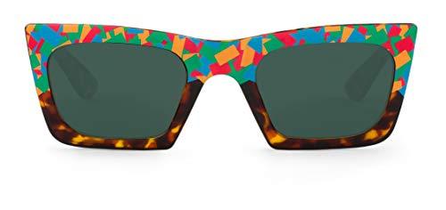Mr. Boho Tomigaya Confetti,Gafas de sol para hombre y mujer, 49 mm