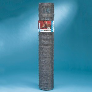 Wildgatter, Zaun, Beeteinfassung, ca. 50m x 160 cm, Hasendicht