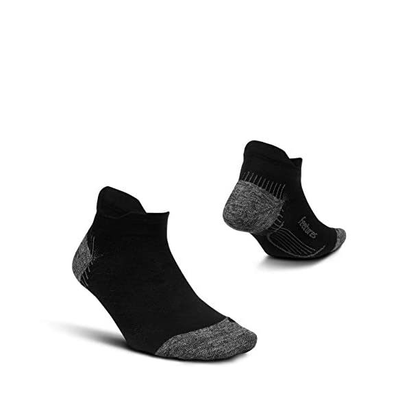 Feetures Plantar Fasciitis Cushion No Show Tab Sock
