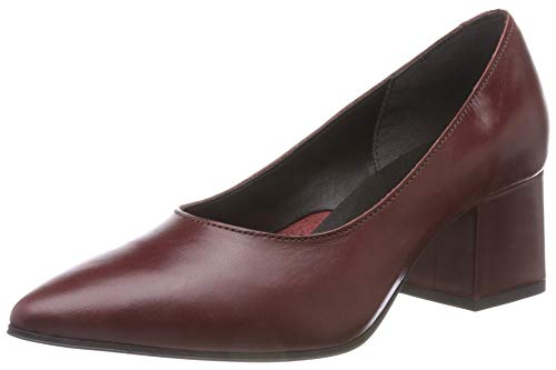 Bianco Damen Fashion Pump Pumps, Rot (WineRed 400), 39 EU