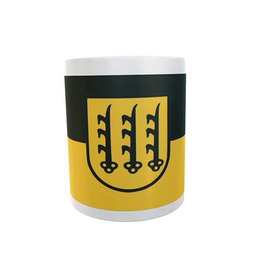 U24 Tasse Kaffeebecher Mug Cup Flagge Crailsheim