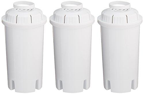 Sapphire Replacement Water Filters, for Sapphire, Brita and Pur Pitchers, 3-Pack