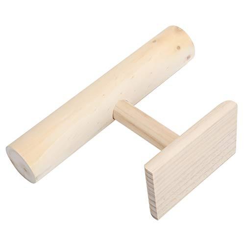 Con barandilla fácil de usar, duradera y liviana, soporte de exhibición de...