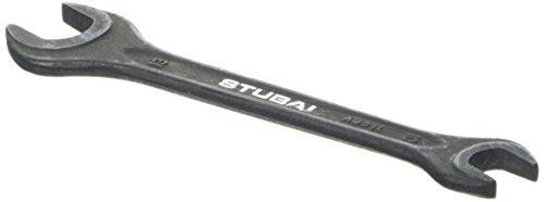 Stubai 20001013 Clef à fourche double din 895, 10x13 mm, Noir, 10 x 13 mm