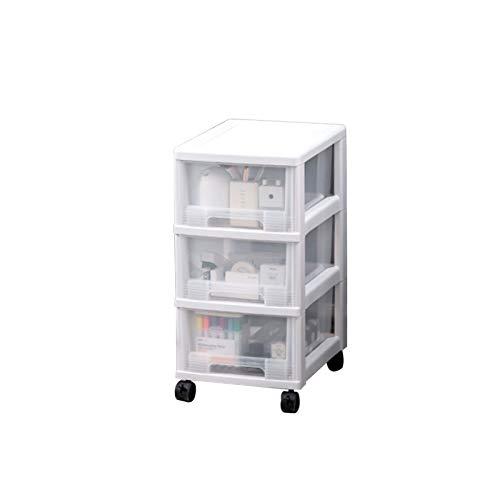 YUMEIGE Caja de almacenamiento de cosméticos Caja de almacenamiento de cajones de gabinete de almacenamiento, gabinete de almacenamiento de múltiples capas, caja de almacenamiento de snack de juguete,