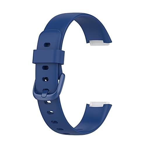 Hspemo Pulsera compatible con Fitbit Luxe, correa de repuesto de TPU para reloj inteligente, fácil instalación