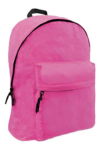Diakakis 000580076 Pink Fluo Backpack Mood Omega 32X42X16, Multicolored