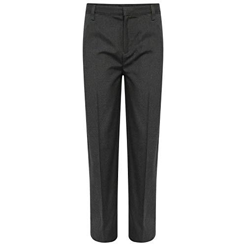 TROUSERS 905 Uniforme Escolar para niños, Cintura Ajustable, Ajuste Regular, con Revestimiento de teflón, Pantalones Formales
