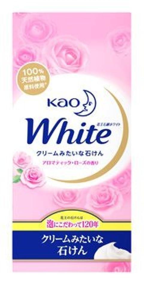 適合する日食テレマコス花王ホワイト石鹸 アロマティックローズの香り KWA-6 Japan