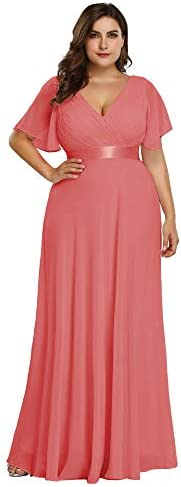 Coral evening gowns _image0