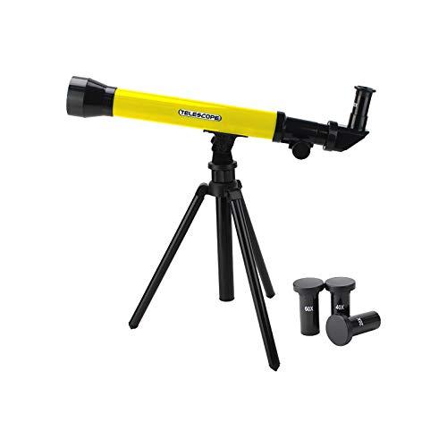 Cardithe Teleskop Für Kinder Und Einsteiger Hochleistungsfähig Monokular Verstellbarem Stativ Teleskop