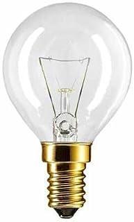 2 X Backofenlampe P45X78 40 Watt E14 klar - Philips