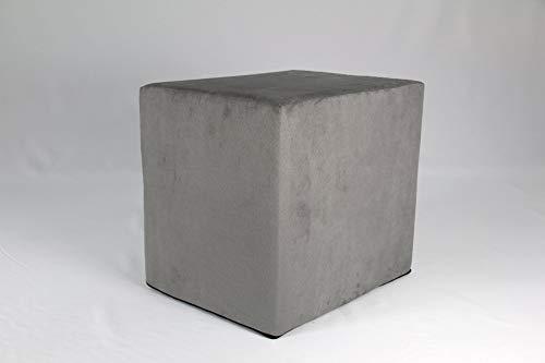 Fränkische Schlafmanufaktur Stufenlagerungswürfel, Bandscheibenwürfel, Lagerungswürfel, mit Microfaserbezug, ca. 45x40x35 Farbe Grau
