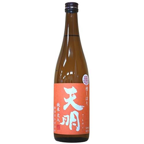 TENMEI Premium Sake Junmai -Orange label, Reiswein aus Japan (1 x 0.72 l)