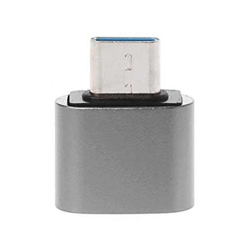 JENOR - Adaptador USB C 3.1 tipo C macho a USB 2.0 hembra OTG adaptador de sincronización de datos para Samsung S9 S8 Note 9/8 Huawei Mate 20/10/9 P20 P10 P9 Xiaomi 5/6/8 Mix