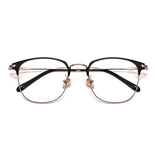 Brillen Blaulichtfilter, Ultraleichte Und Komfortable Reinem Titan,Strahlenschutzbrille,Mode Einfache Unisex,Anti-Blaues Licht Strahlenschutzcomputer Schutzbrille (Color : D)
