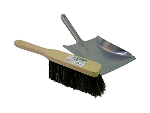 Bosmere Metal Dustpan and Brush, M444