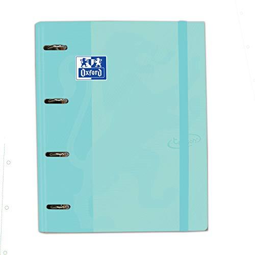 Carpeta con recambio Europeanbinder A4+ Oxford Touch color Ice Mint Pastel