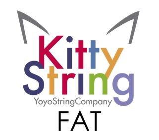 Kitty String Yo-Yo String 100 Pack - FAT (Hot Pink)
