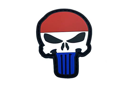 Nederland Vlag Punisher Airsoft PVC patch