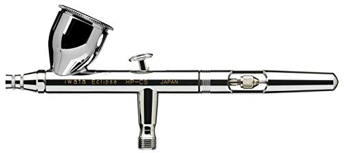 Iwata Eclipse HP-CS 0.35mm Dual Action Gravity Feed Airbrush - 5 Years Warranty by IWATA ECLIPSE