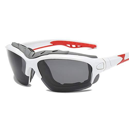 Tragbare Fahrradsonnenbrille Polarisierte Licht-im Freienmänner und Frauen-allgemeine Sport-Sonnenbrille schützen sich vor durchbrennensand-Radfahren Für den Outdoor-Radsport ( Farbe : Weiß )