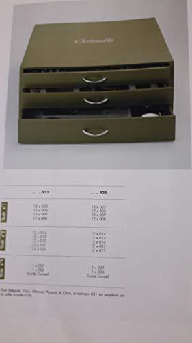 Christofle Ambassadeur Besteckkassette für 125-tlg. leer