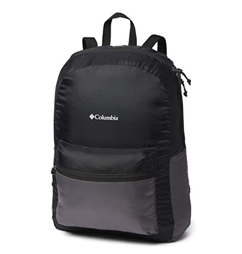 Columbia Lightweight Packable 21l Backpack, Black/City Grey, One Size