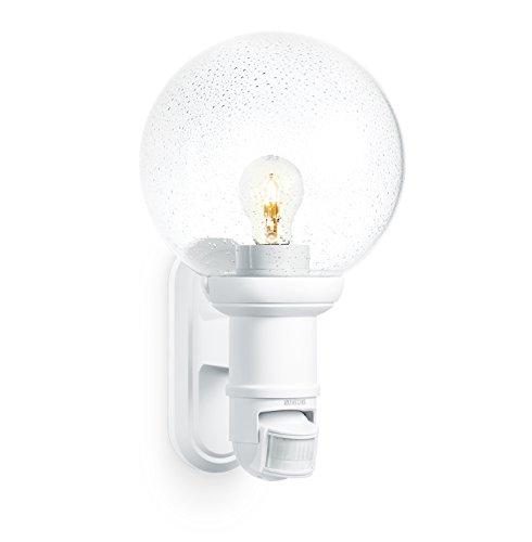STEINEL L560S Sensorleuchte weiß mit PAULMANN LED 11W E27