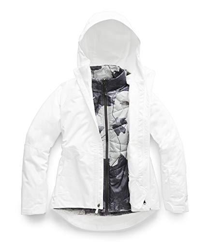 The North Face Women's Clementine Triclimate Jacket, TNF White, XL