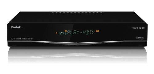 Protek 9770 HD IP HDTV-Satellitenreceiver (DVB-S/-S2, SPDIF, Cinch, SCART, USB 2.0)