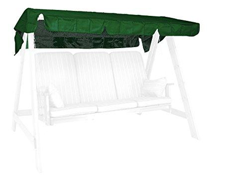Angerer 9908/01 - Baldacchino per dondolo, 193 x 130 cm, colore: Verde