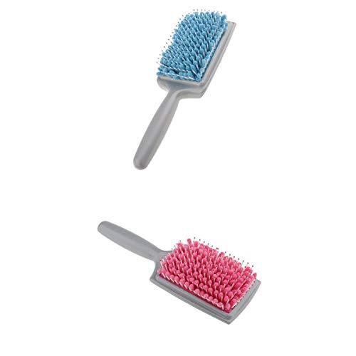 perfeclan 2 Pièces Rapide Sèche-Cheveux Peigne Microfibre Serviette Absorbant Sec Humide