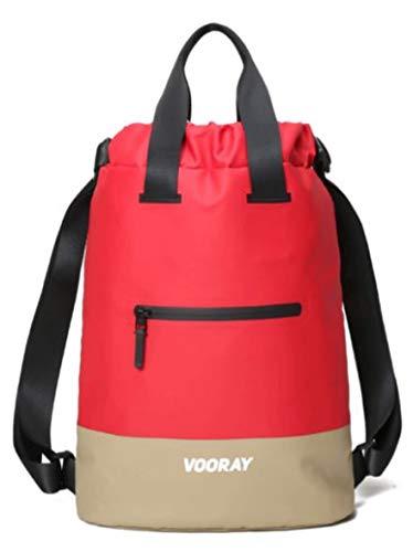 Vooray Flex Cinch - Mochila con cordón (23 L), color rojo