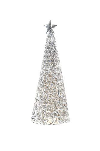 Sompex Weihnachtsbaum Tischleuchte Glamor | Batteriebetrieben | 28cm