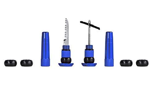 Muc Off Stealth Tubless - Kit de tapones para pinchazos (azul)