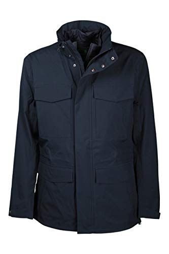 Save The Duck UOMO GIACCA CON GILET D3826M GRINX (BLU, m)