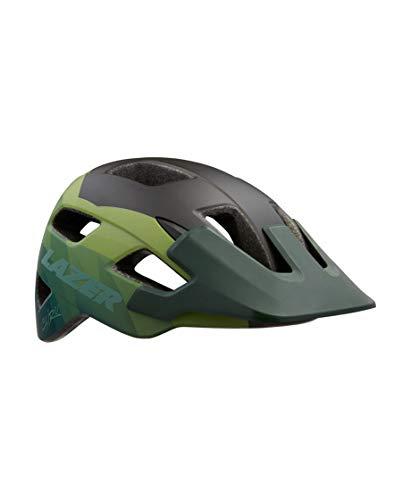 Lazer Casco MTB Ciclismo Chiru Talla S Color Matte Dark Green