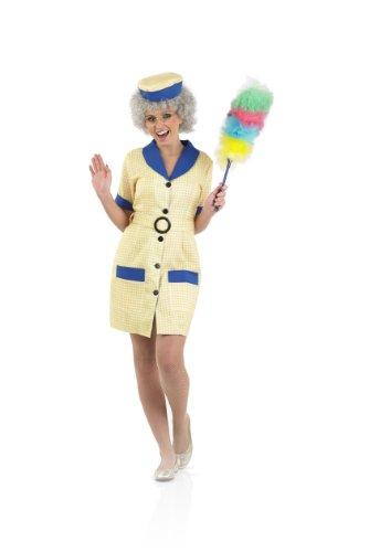 Hi De Hi Peggy Medium Costume for Adults