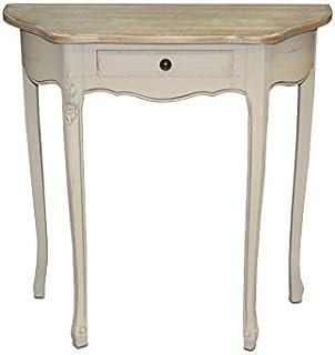 Table baroque beige (80*35*79cm)