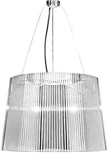 Kartell Ge' Lámpara E27, Transparente, 37 x 26 x 37 cm